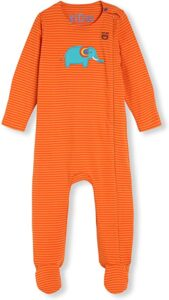 Pijamas bebé Naranja