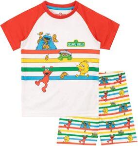 Pijamas bebé Barrio Sésamo