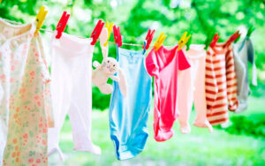 ¿Cómo secar la ropa del recién nacido?